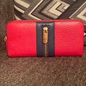 Red & blue Marc Jacobs Wallet.